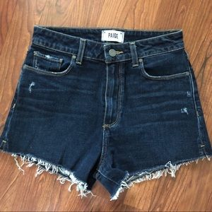 High waisted Paige Margot Shorts